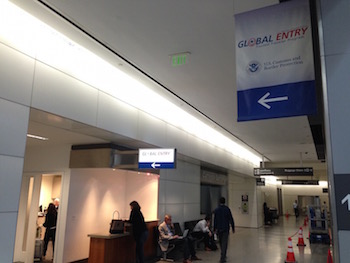 Global Entry interview location and Enrollment Center at San Francisco International Airport