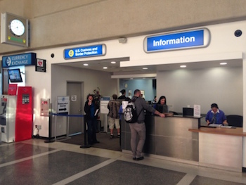 Global Entry Interview location and Enrollment Center in Los Angeles, LAX airport