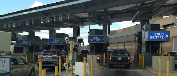 Use your SENTRI pass in SENTRI lanes at San Ysidro